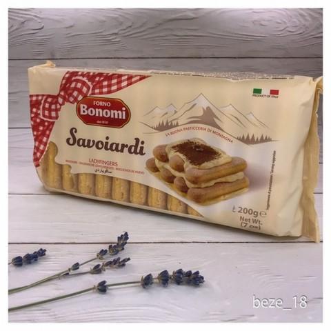 Палочки Savoiardi сахарные, 200гр