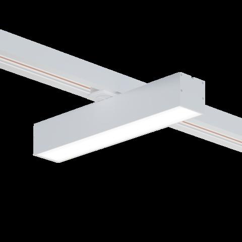 Светильник трековый светодиодный 30W 600x50x50мм белый