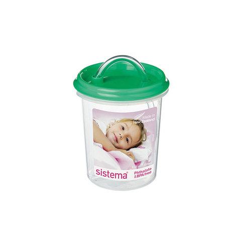 Детская чашка с трубочкой  250мл, артикул 40, производитель - Sistema