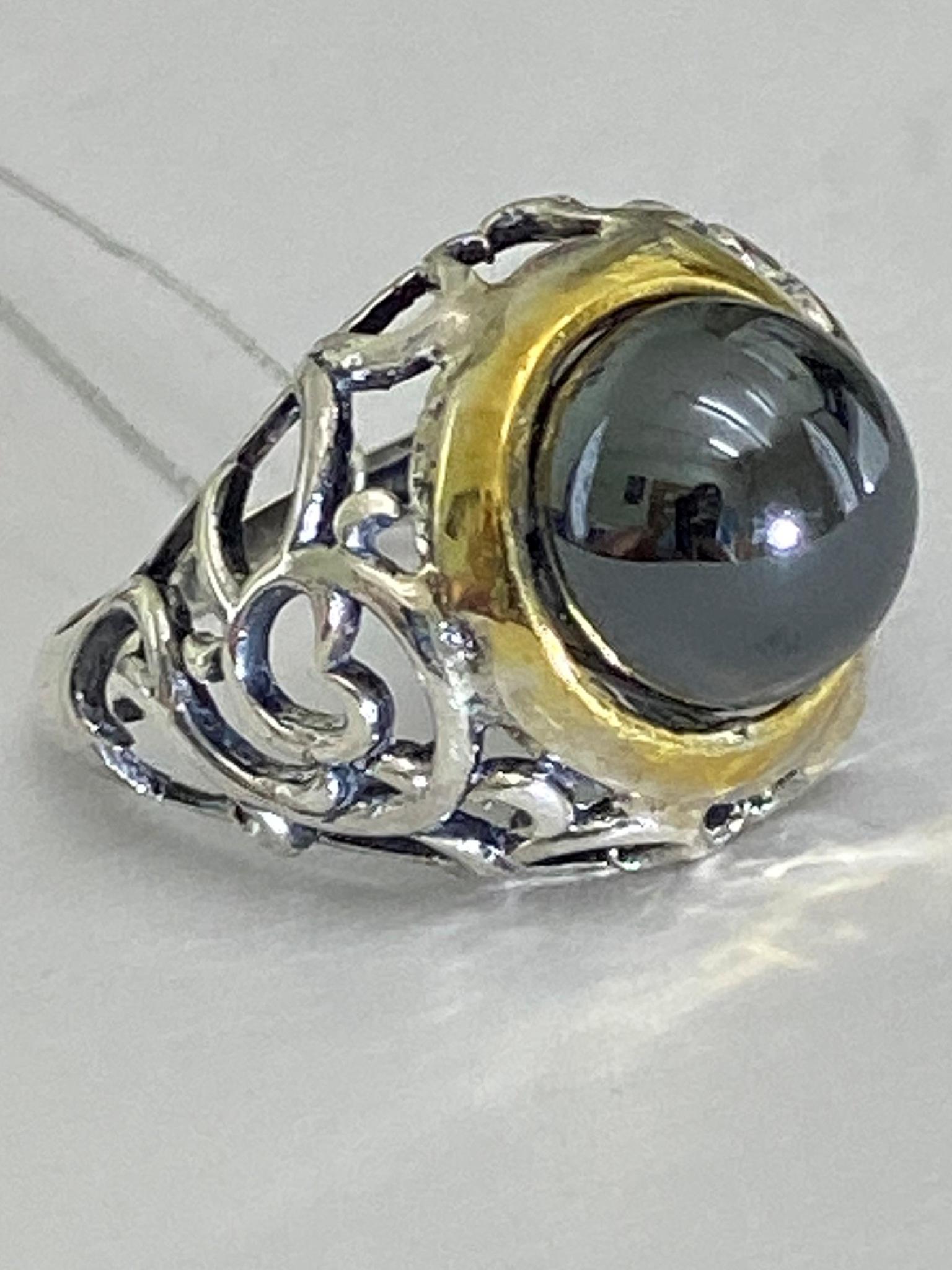 Купава (кольцо из серебра)