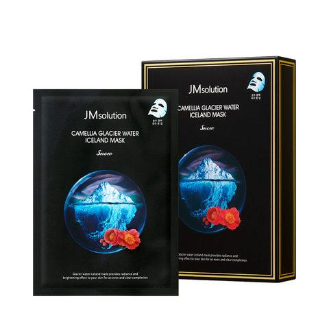 JMsolution Camellia Glacier Water Iceland Mask Snow тканевая маска с экстрактом камелии
