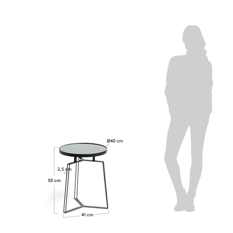 Приставной столик Radler черный