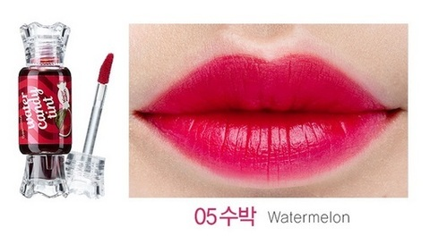 THE SAEM LIP Тинт для губ Конфетка Saemmul Water Candy Tint 05 Watermelon 10g