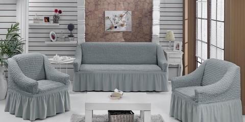 Набор чехлов на трехместный диван и два кресла Mattia