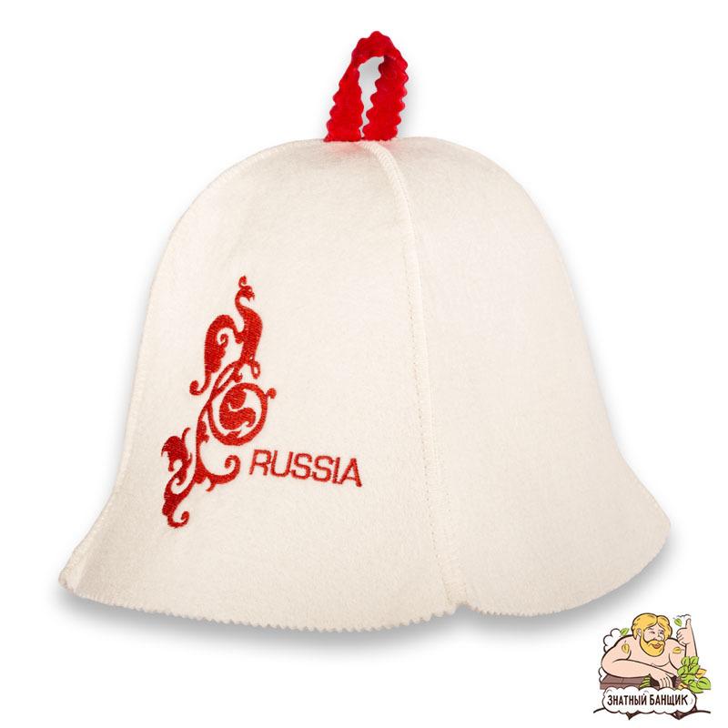 Шапка для бани Russia