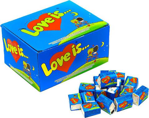 Saqqız / Жвачка Love is... (100 ədəd)