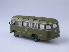 PAZ-672M sanitary Soviet Bus (SOVA) 1:43