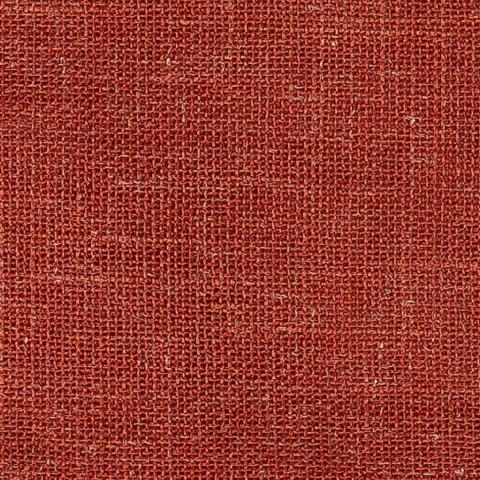 Портьерная ткань рогожка красный