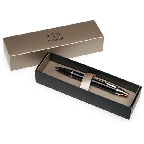 Parker IM - Black GT, ручка-роллер, F, BL
