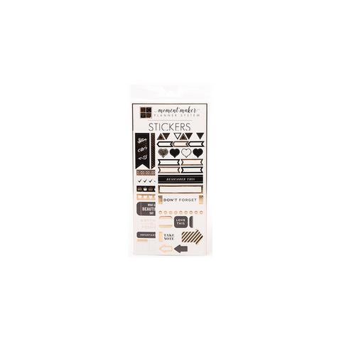 Стикеры DCWV Moment Maker Planner System Stickers