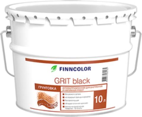 Finncolor Grit black/Финнколор Грит блэк Антикоррозионная грунтовка
