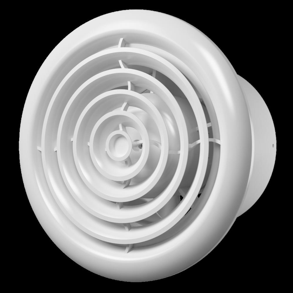 Flow Вентилятор FLOW 5C BB D125 (двигатель на шарикоподшипниках, с обратным клапаном) Флоу.png