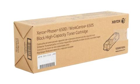 Оригинальный картридж Xerox 106R01604, черный