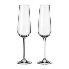 Набор бокалов для шампанского Crystalite Bohemia Ardea/Amudsen 200 мл, 2 шт, фото 1