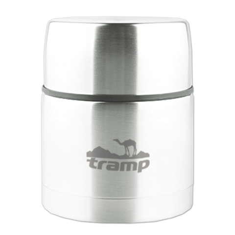 Термос с широким горлом 1,0 л. Tramp TRC-079 (серый) (37798)
