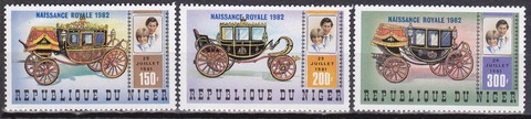 Нигер 1982 № 804-6 **MNH