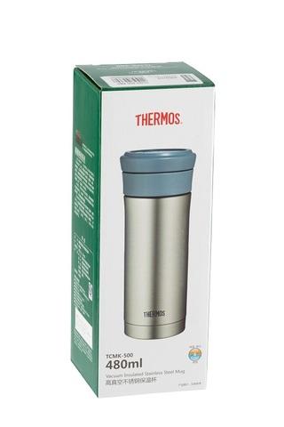 Термокружка Thermos TCMK-500 SBK (0,5 литра) с ситом, стальная