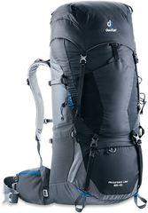 Deuter Aircontact Lite 65+10 Black-Graphite - рюкзак туристический