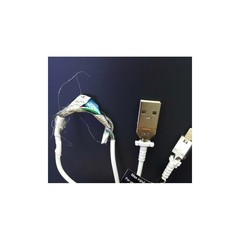 Cable for Samsung Galaxy S6 黑标 White OD:3.0 TPE 1.2M Orig OEM MOQ:100