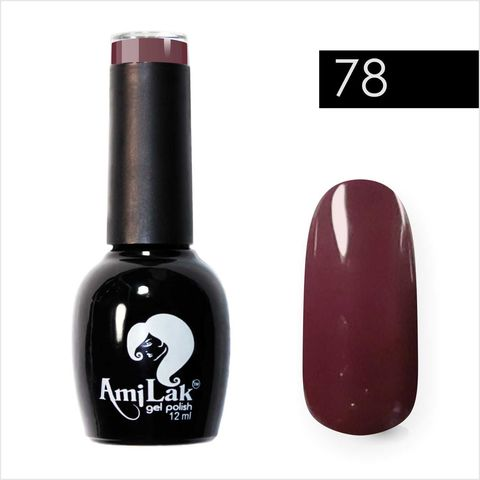 AmiLak Color Gel Polish №078