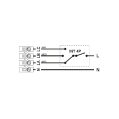 Регулятор скорости Soler & Palau INTER 4P
