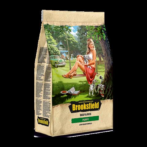 Brooksfield Puppy Beef & Rice Сухой корм для щенков с говядиной и рисом