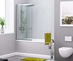Шторка для ванны WasserKRAFT Main 41S02-100 WasserSchutz 100 см