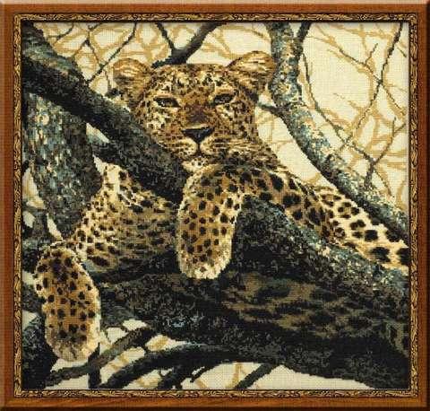 Набор для вышивания крестом «Леопард» (937)