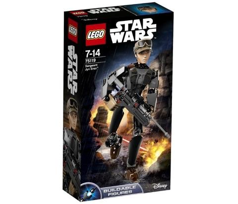 LEGO Star Wars: Сержант Джин Эрсо 75119 — Sergeant Jyn Erso — Лего Звездные войны Стар Ворз