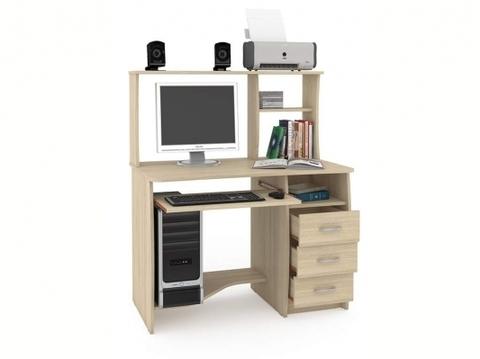 Компьютерный стол Комфорт 4 СКР Моби дуб сонома