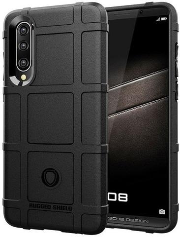 Чехол для Huawei P30 цвет Black (черный), серия Armor от Caseport