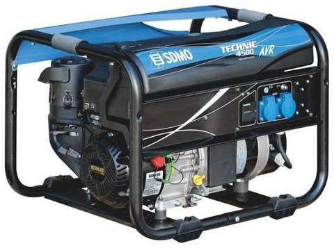 Кожух для бензиновой электростанции SDMO Technic 4500 AVR