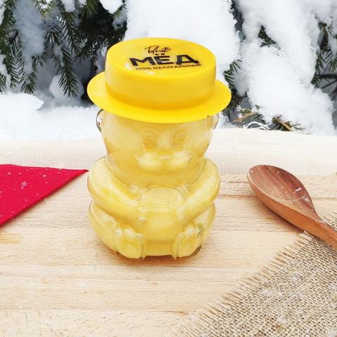 Крем мёд 2020 400 гр в стеклянном мишке