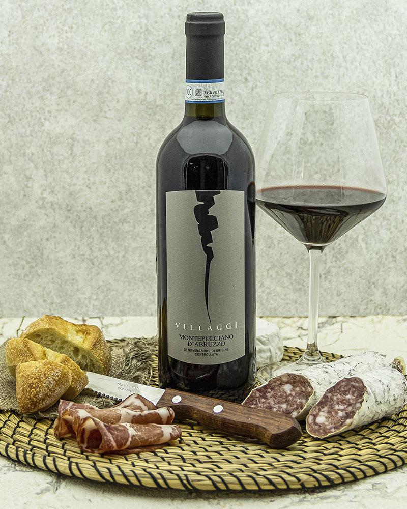 Вино Pirovano Вилладжи Монтепульчано Д'Абруццо Красное Сухое 12,5% 0,75 л.