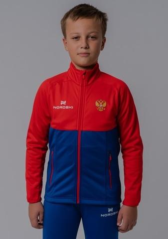 Разминочная куртка Nordski Jr.Premium Patriot  подростковая