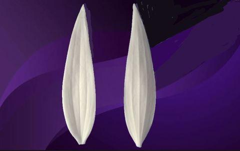 Силиконовый молд  Вайнер лист гвоздики ,  лилии , гиацинта