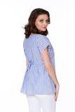 Блузка для беременных 08567 синий