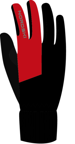 Лыжные перчатки Nordski Motion Black/Red WS