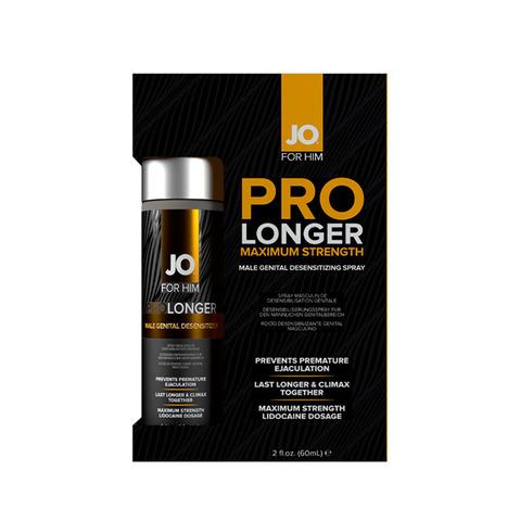 JO FOR HIM Prolonger Spray Desensitizer, 60 ml Спрей-пролонгатор для мужчин максимального воздействия