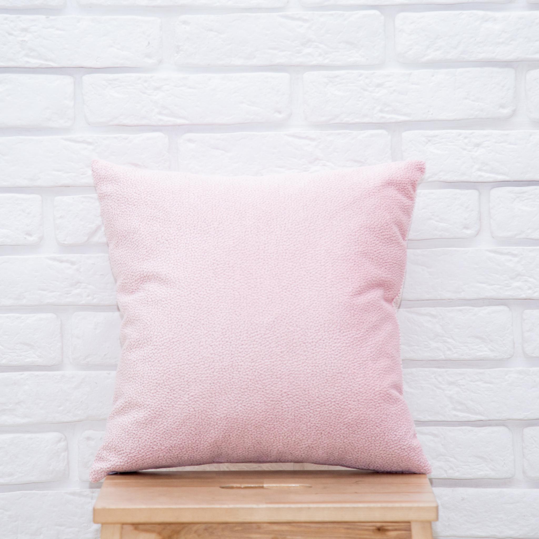 Подушка 40*40  (светло-розовая)
