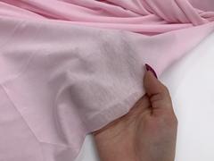 Хлопок кулирка розовая 15*15 см