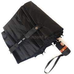 Мужской зонт Три Слона М8105 черный 10 спиц суперавтомат