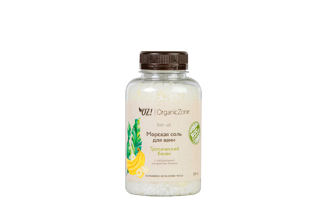 OZ! Соль для ванны Тропический банан (250 мл)