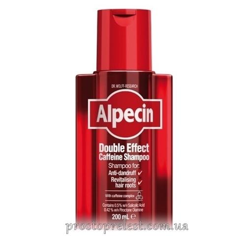 Alpecin Double Effect Caffeine Shampoo - Шампунь от перхоти и выпадения волос