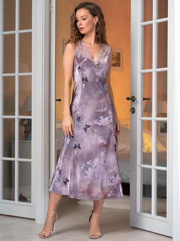 Длинная шелковая сорочка MIA-Amore AURORA АВРОРА 3658