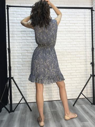 Платье шифон без рукавов оптом