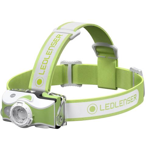 Фонарь налобный Led Lenser MH7 зеленый/белый лам.:светодиод. (500991)