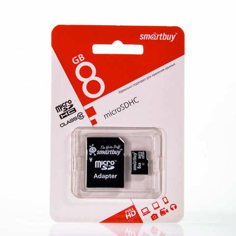 Карта памяти Smart Buy 8GB