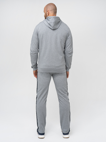 Спортивный костюм «Мастер» цвета серый меланж