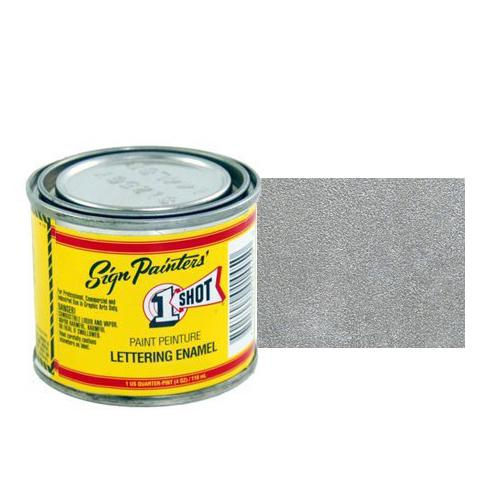 Эмали для пинстрайпинга Эмаль для пинстрайпинга 1 Shot Серебро (Metallic Silver), 118 мл MetallicSilver.jpg